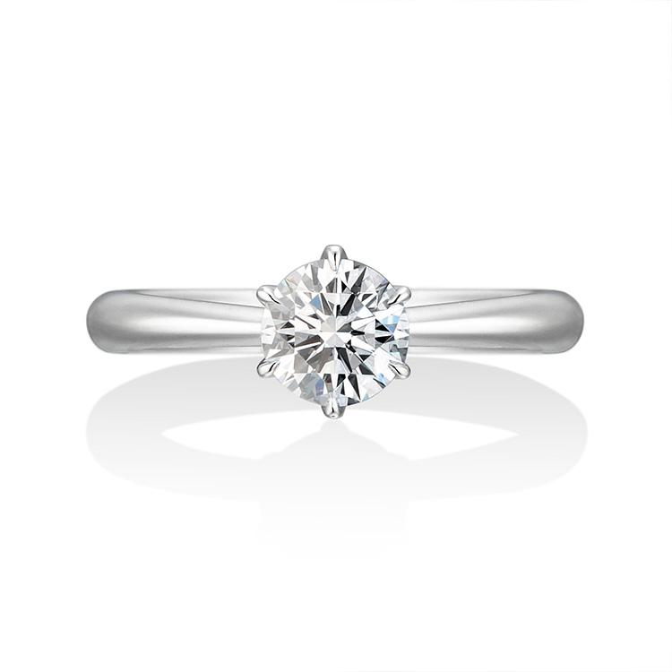 ダイヤモンドのアローを際立たせメリハリをつける