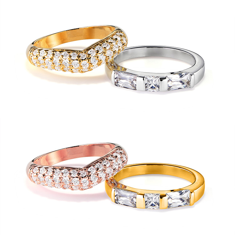 指輪の金属の色変更 ゴールドからピンクゴールド、ホワイトゴールドからゴールドへ